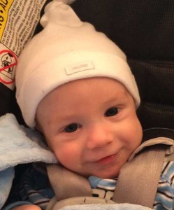 Tennessee Essure reversal baby in his car seat