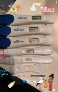 multiple-urine-pregnancy-test-confirming-pregnancy